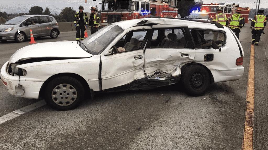405 Accident Saturday