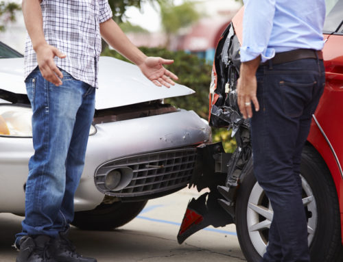 Determining Fault by Location of Damage in a Car Accident